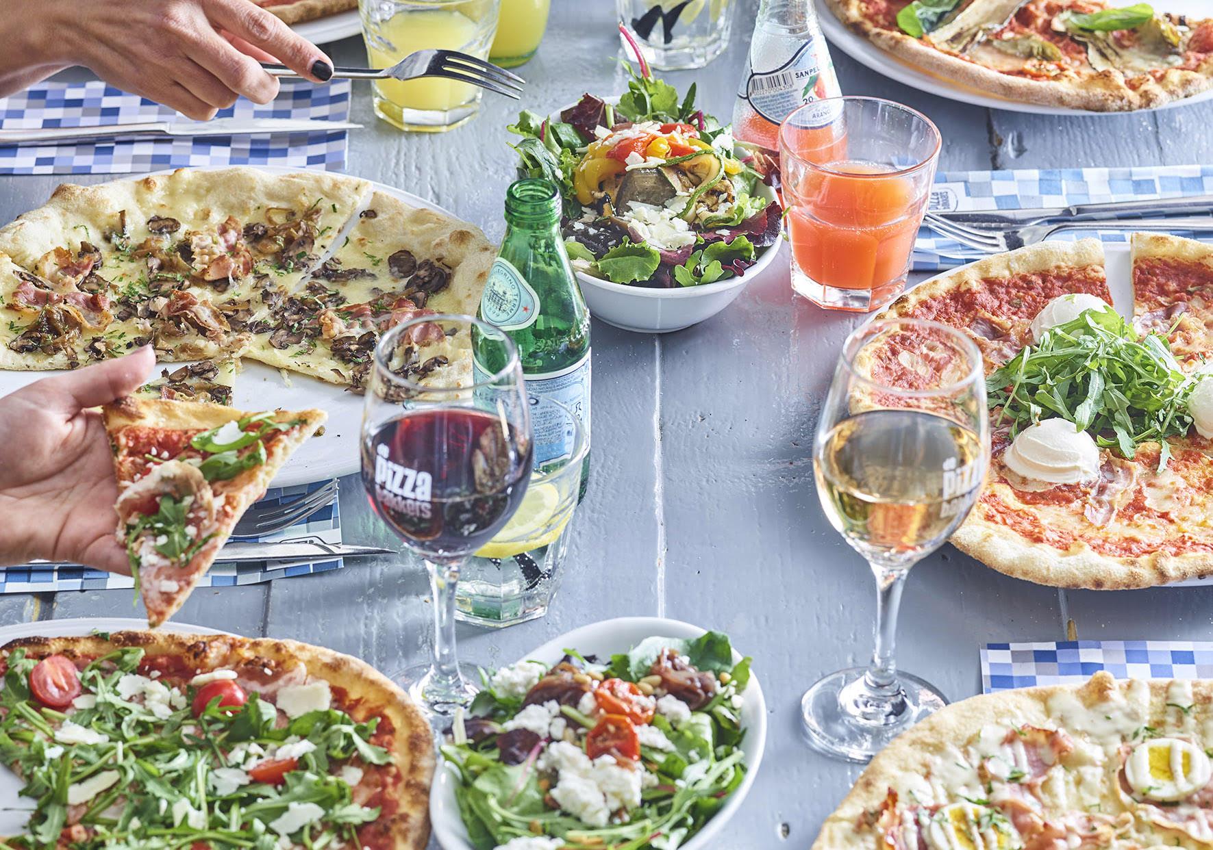 De Pizzabakkers Online bestellen