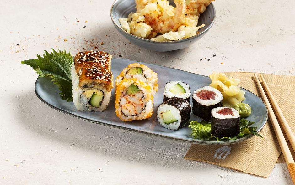 sushi livraison bruxelles