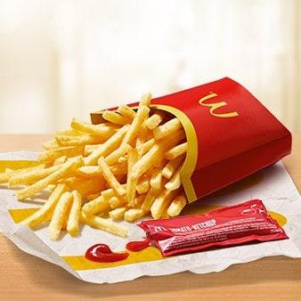 Frische McDonald's Pommes Frites